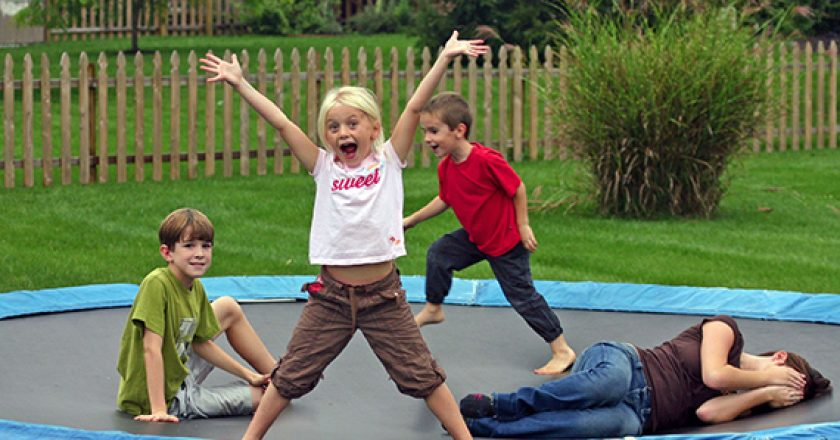 Trampolines: all fun and games until...