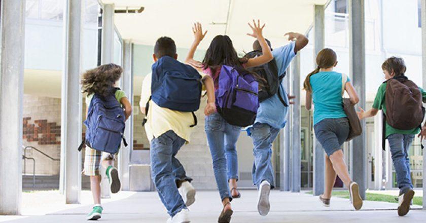 Children Heading Back to School