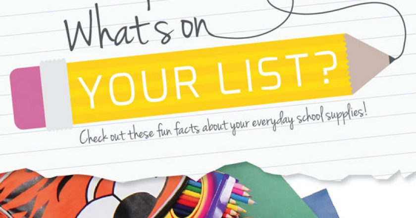 School Supplies — What's on Your List?