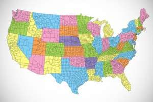 us counties