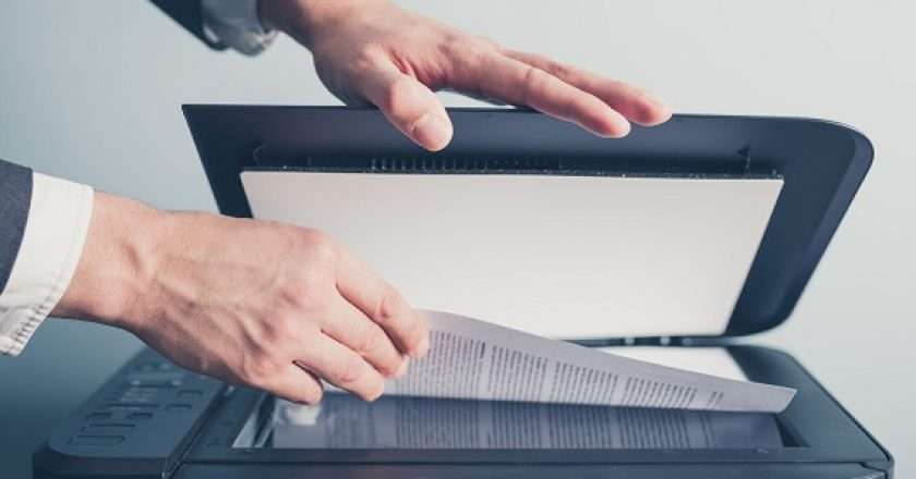 Scanning important personal documents