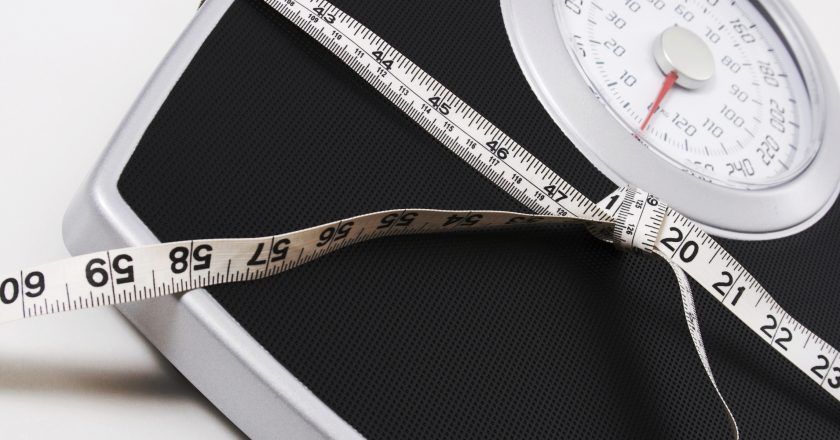 Weight Scale and Measuring Tape