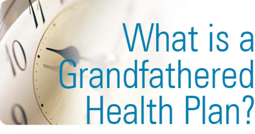 Grandfathered Health Plan