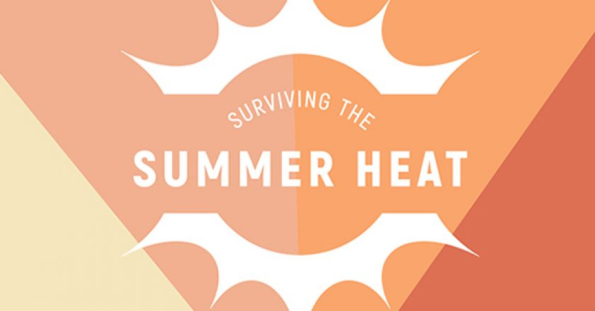 summer heat infographic