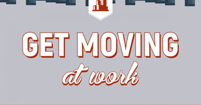 moving at work