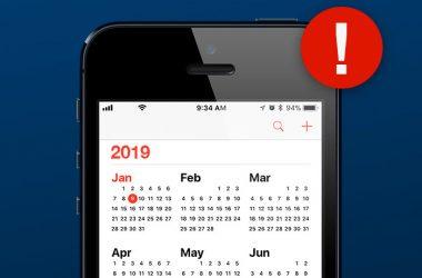 2019 insurance calendar