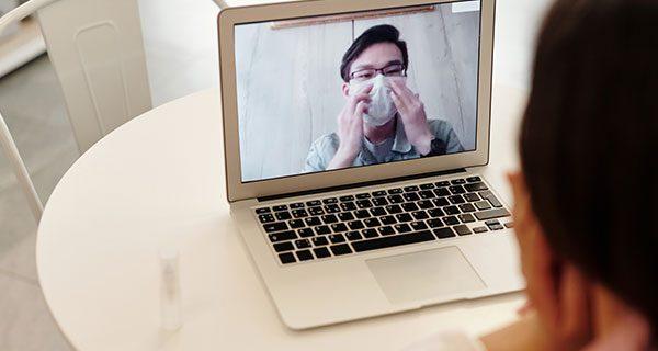 Online health visit